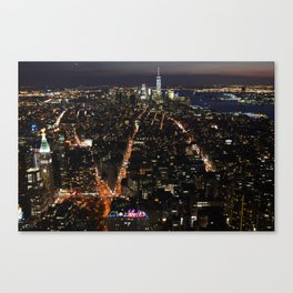 New York of lights Canvas Print
