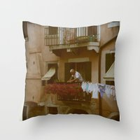 italian Throw Pillows featuring italian style by G. Cicero