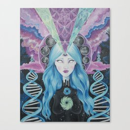 Dimensions of Nebular Awareness Canvas Print