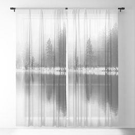 Rhythm of Nature Sheer Curtain
