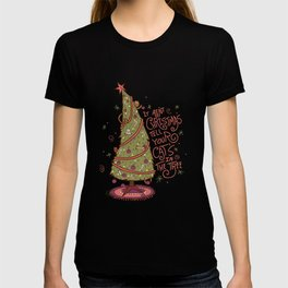 Cat Christmas Graphic T-shirt