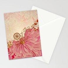Vintage design in soft colors Stationery Cards