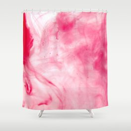 Abstract Blood Shower Curtain