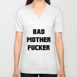 Bad Mother Fucker Unisex V-Neck