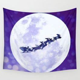 Santa Claus is Coming to Town Wall Tapestry