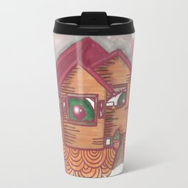 neighbours are watching  Travel Mug
