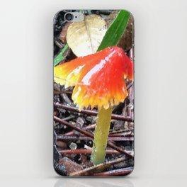 Red and Yellow Mushroom iPhone Skin