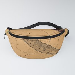 Map Of Pensacola 1862 Fanny Pack