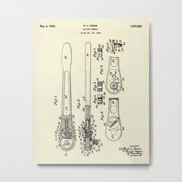 Ratchet Wrench-1933 Metal Print