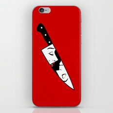 Noir Knife iPhone & iPod Skin