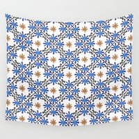 morocco Wall Tapestries featuring Morocco by Charlotte Rigby
