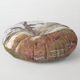 Dead Cypress At Pebble Beach Floor Pillow