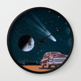 Afraid of Everyone Wall Clock