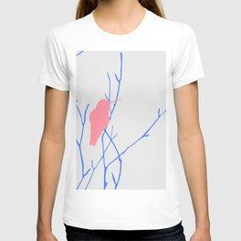 Pink and Blue Hummingbird T-shirt