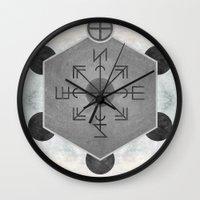compass Wall Clocks featuring Compass by Joris182