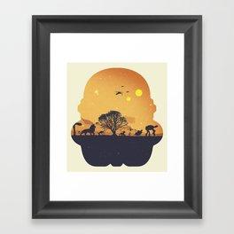 Starking Framed Art Print