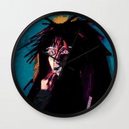 vinyl remix: jody watley Wall Clock