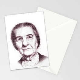Golda Meir Stationery Cards