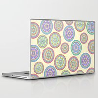 zentangle Laptop & iPad Skins featuring zentangle by Alapapaju