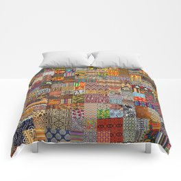 Ethnic Patterns Comforters