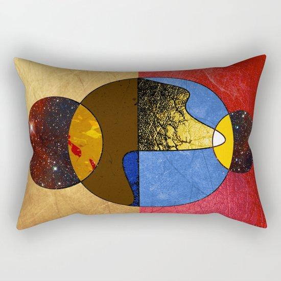 Abstract #117 Rectangular Pillow