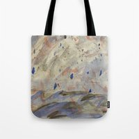 anxiety Tote Bags featuring Anxiety by Kali Thomas