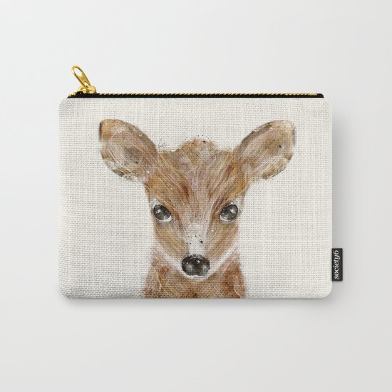 little deer fawn Carry-All Pouch