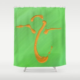 Rising Spirt Shower Curtain