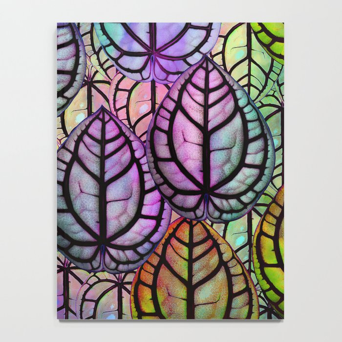Multicolored Leaves Notebook