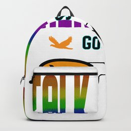 talk to me goose Graphic T-Shirt Backpack