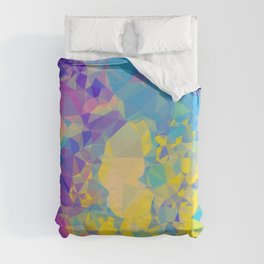 Polystone - Abstract Art Duvet Cover