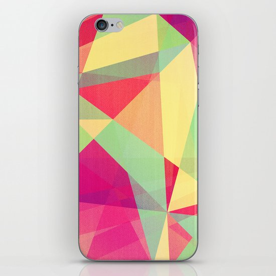 Summer Abstract iPhone & iPod Skin
