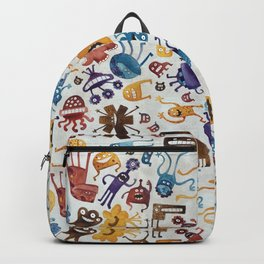 Critter Pattern 3 Backpack