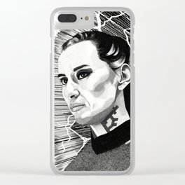Cara Gee Clear iPhone Case
