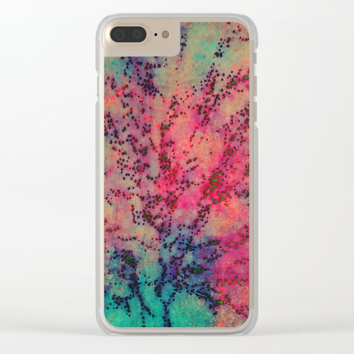 True Colors Bleed Clear iPhone Case