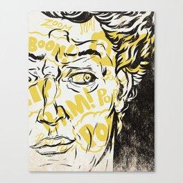 Pop Art David Canvas Print