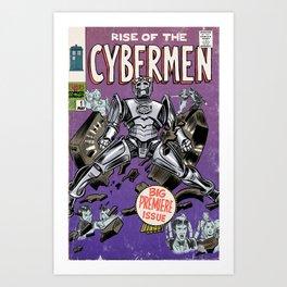 Rise of the Cybermen Art Print