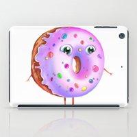 donut iPad Cases featuring Donut by Zaksheuskaya