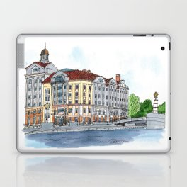 Business Center Fish Market, Kaliningrad, Russia Laptop & iPad Skin
