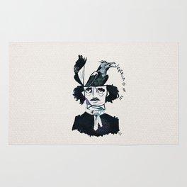 Edgar Poe - Nevermore Rug
