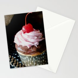Cherry On Top Cupcake Stationery Cards