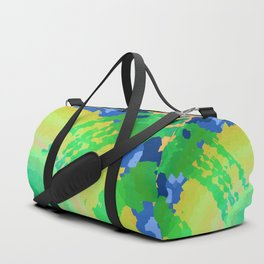 Abstract Mixed Media Series Sunrise Over the Ocean 26 Duffle Bag