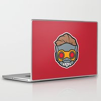 starlord Laptop & iPad Skins featuring Legendary Outlaw by Papyroo