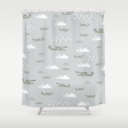 Hawks and things Shower Curtain