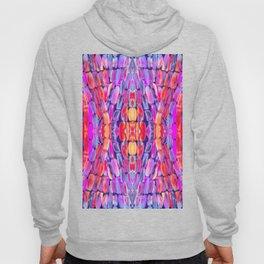 Ultraviolet Purple Sugarcane Pattern Hoody