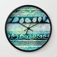 Dreamy Tribal Part VIII Wall Clock