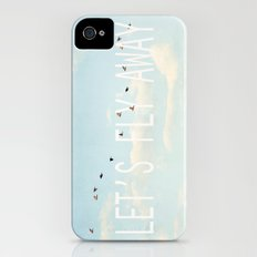 Let's Fly Away iPhone (4, 4s) Slim Case