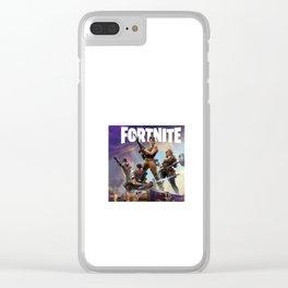 Fortnite Game Clear iPhone Case