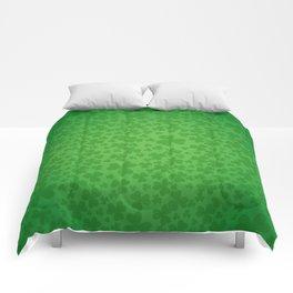 irish, ireland, shamrock, irish gifts women, luck of the irish, irish gift, three leaf clover Comforters