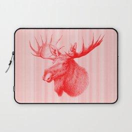 Moose red Laptop Sleeve